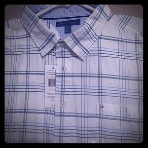 Tommy Hilfiger XXL short sleeve dress shirt.